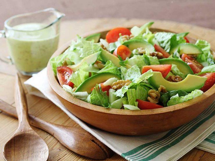 салата с авокадо