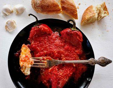 ястия с доматен сос