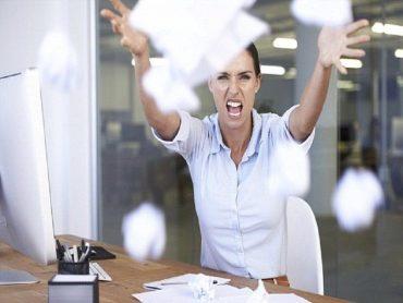гнева на работното място