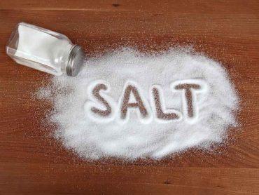 намаляване на солта