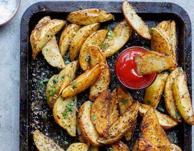 картофи на фурна по селски